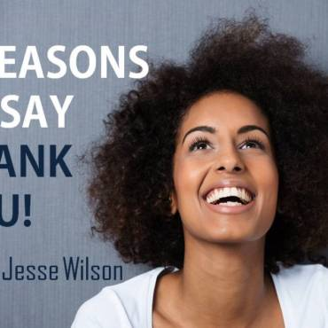 3 Reasons to Say Thank You!