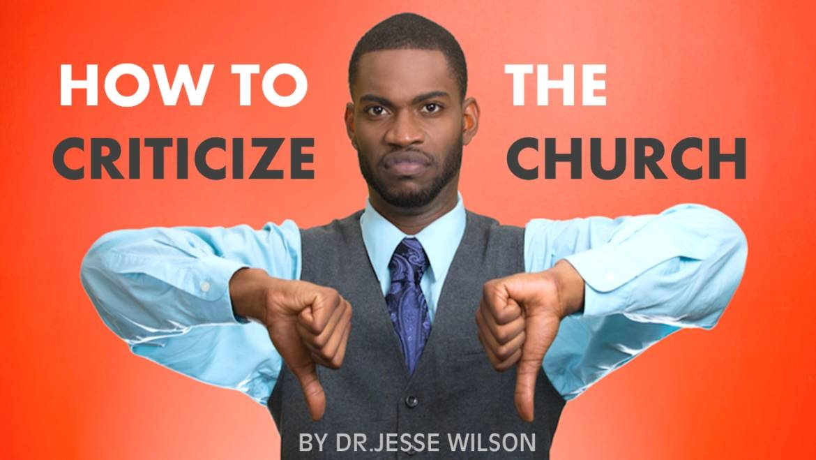 How to Criticize the Church