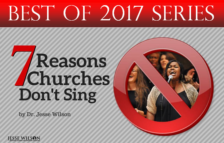 7 Reasons Churches Don't Sing